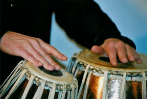 tabla - hands detail